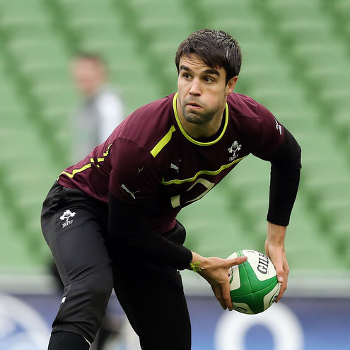 Photos of the Ireland Captain's Run session at the Aviva Stadium