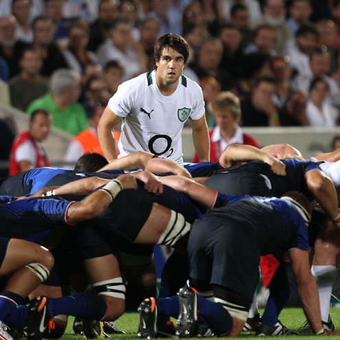 Conor Murray made his senior debut for Ireland in Bordeaux