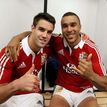 Munster and Ireland backs Conor Murray and Simon Zebo