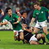Conor Murray was eager to impress as one of nine Rugby World Cup debutants into the Irish starting line-up