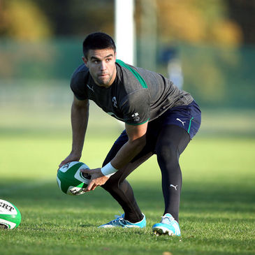 Conor Murray training at Carton House