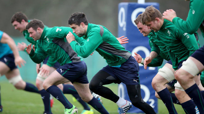 Fergus McFadden and Conor Murray lead the way