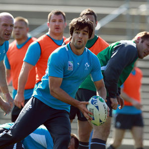Ireland Squad Training At Carisbrook Stadium, Dunedin, New Zealand, Friday, September 30, 2011
