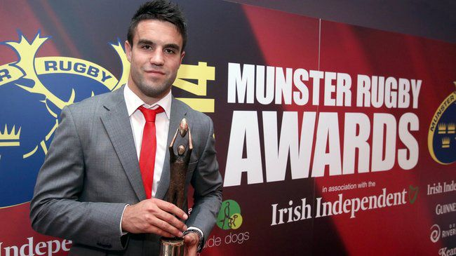 Munster Player of the Year Conor Murray