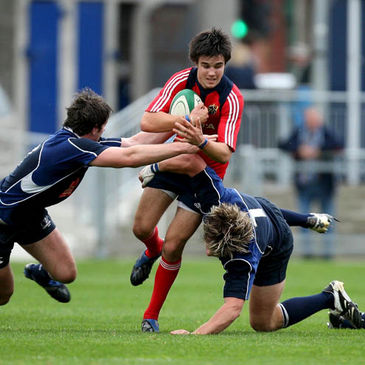 Conor Murray is pictured in action for the Munster Under-20s