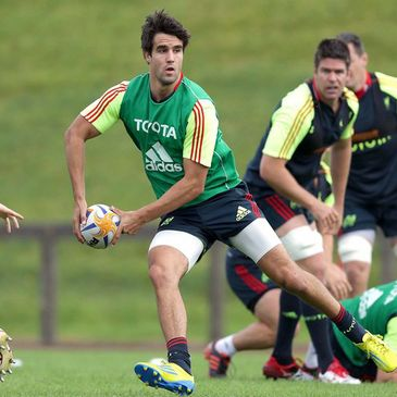 Conor Murray training with the Munster squad