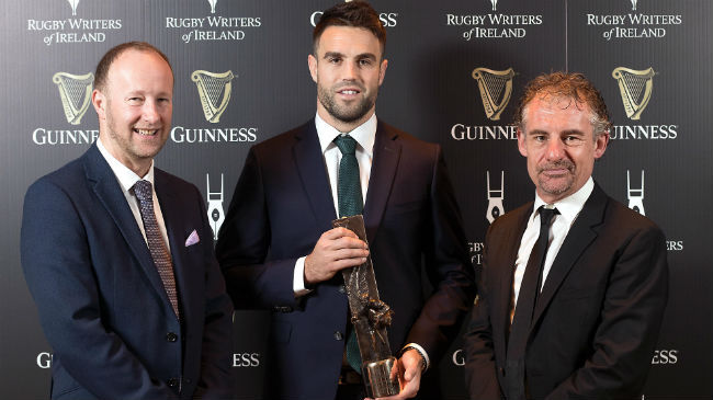 Murray And Molloy Pick Up Rugby Writers Awards