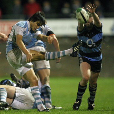 Garryowen scrum half Conor Murray in action against Shannon