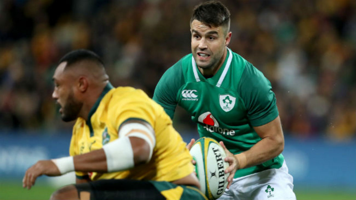 Ireland Down Under: Conor Murray Post Match Reaction