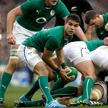 Conor Murray in action for Ireland