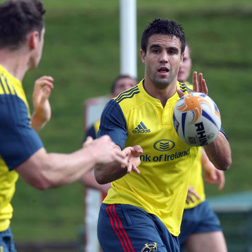 Munster scrum half Conor Murray