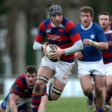 Conor O'Keeffe charges forward for Clontarf