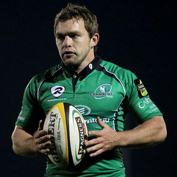 Connacht scrum half Conor O'Loughlin