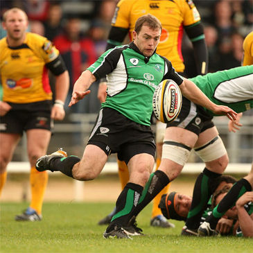 Scrum half Conor O'Loughlin in action for Connacht