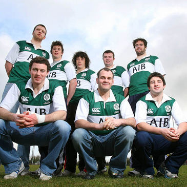The Cork players in Ireland's AIB Club International squad