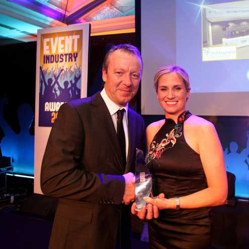 THP were winners at the Event Industry Awards