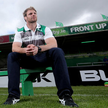 Craig Clarke at the Sportsground