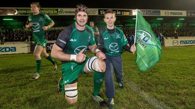 Connacht second row Craig Clarke