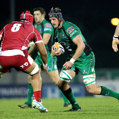 Connacht lock Craig Clarke