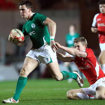 Craig Gilroy in action for the Ireland U-20s