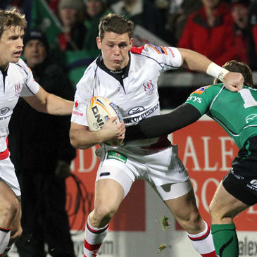 Craig Gilroy in league action for Ulster