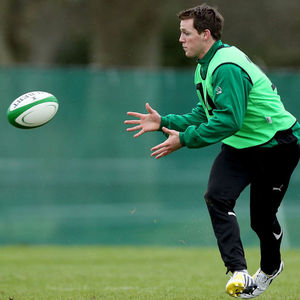 Ireland Squad Training Session At Carton House, Maynooth, Friday, February 8, 2013