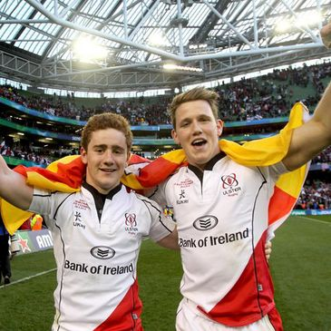 Ulster duo Paddy Jackson and Craig Gilroy