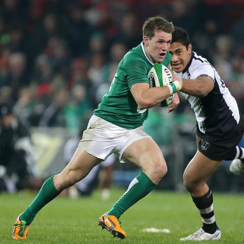 Craig Gilroy in action during the non-cap international against Fiji