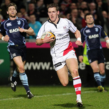 Craig Gilroy in action for Ulster