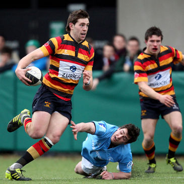 Craig Ronaldson in action for Lansdowne
