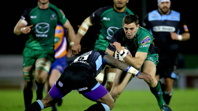 Craig Ronaldson in action for Connacht