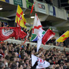 The South African influence at Ravenhill was evident as the flags were waved at Ravenhill