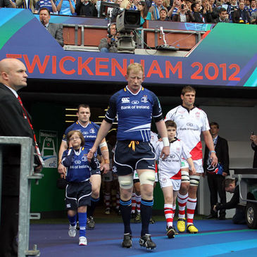 Leinster and Ulster contested last month's Heineken Cup final