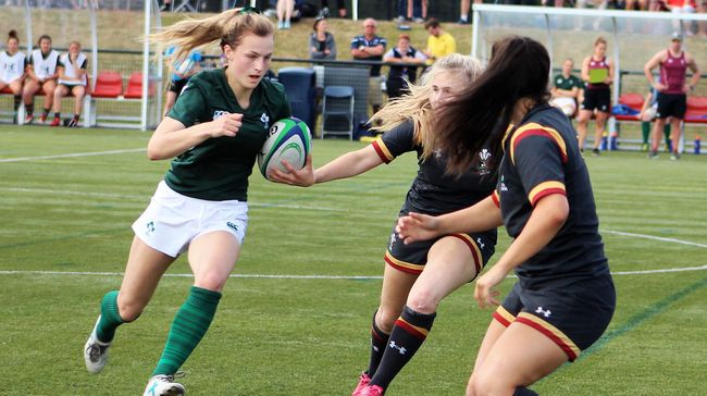 Ireland U-18 Women's Sevens Squad Named For Home Nations Decider