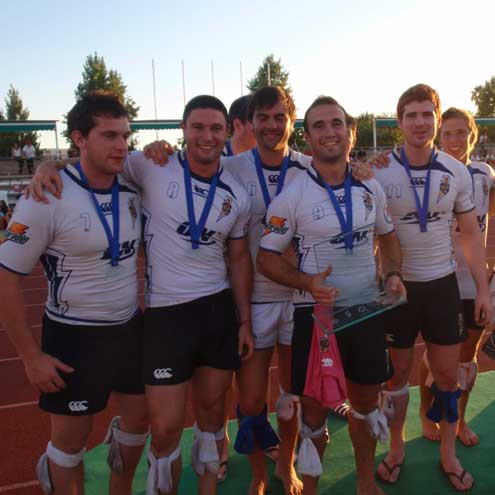 DCU Force Sevens won bronze medals in Spain