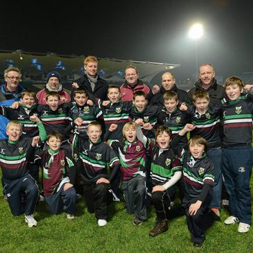 The DLSP Under-12s at the RDS