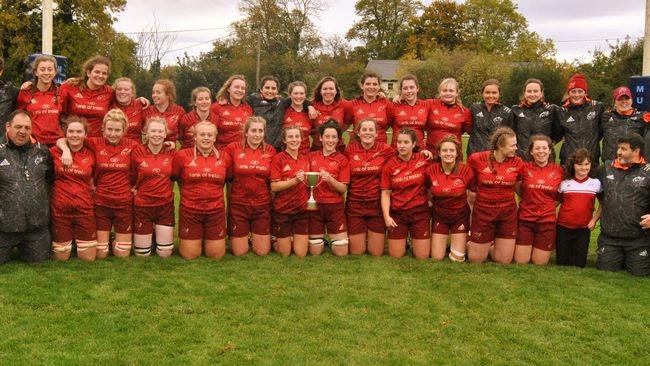 Unbeaten Munster Claim Their First U-18 Girls Interpro Title