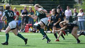Under-18 Women's Home Nations Sevens Tournament - Round 2, University Of Birmingham, Birmingham, England, Saturday, July 21, 2018