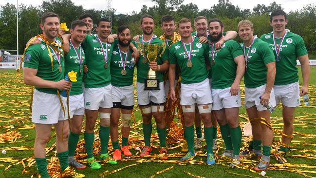 The Ireland Men were crowned champions in Moscow at the start of the month