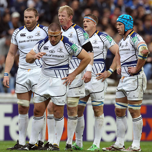 Damian Browne will start alongside Leo Cullen in Leinster's second row