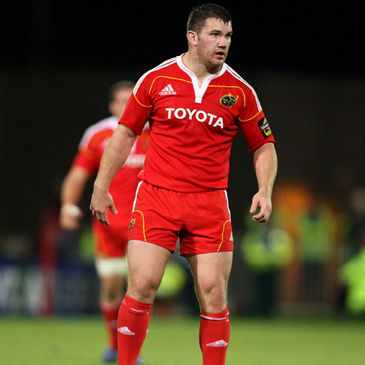 Damien Varley is Munster's newest Ireland international
