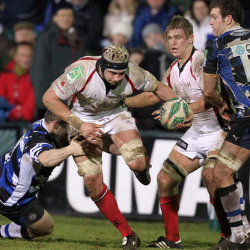 Ulster's Dan Tuohy in action against Bath