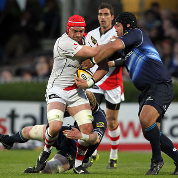 Ulster's Dan Tuohy in action against Leinster
