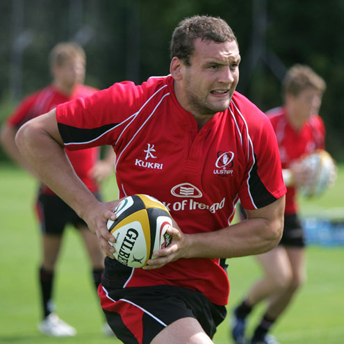 Ulster's new second row Dan Tuohy