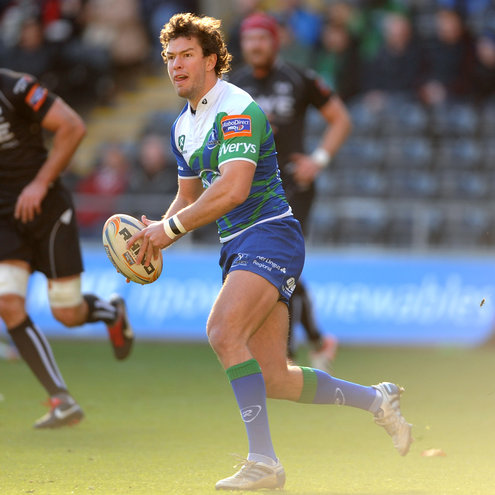 Danie Poolman came off the bench against the Ospreys
