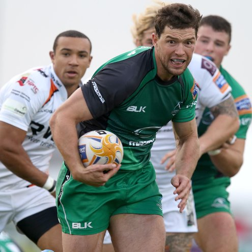 Connacht's Danie Poolman in action against the Ospreys