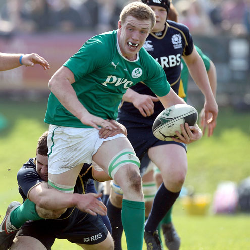 Flanker Daniel Leavy will captain the Ireland team
