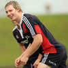 Young centre/winger Danny Barnes came off the bench against Aironi Rugby to win his third Munster senior cap