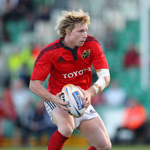 Danny Barnes in action for Munster