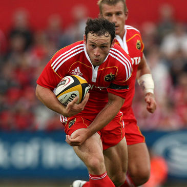 Danny Riordan was a try scorer for Munster 'A'